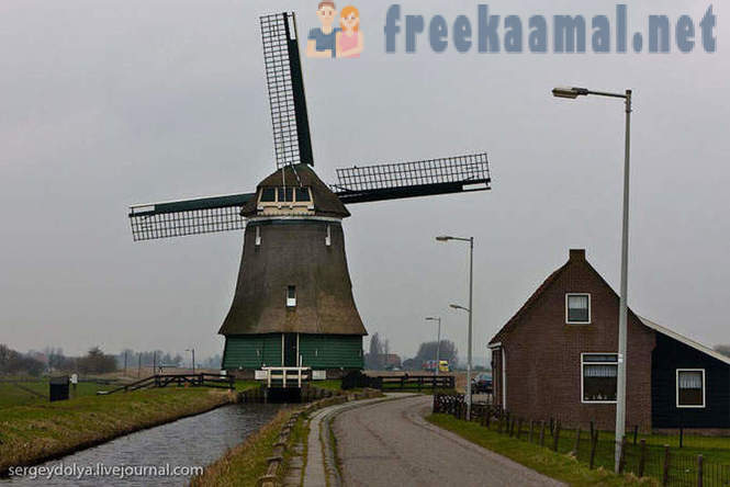 Fishing village sa Netherlands